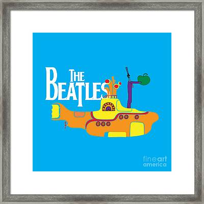 The Beatles No.11 Framed Print by Caio Caldas