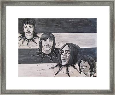 the Beatles the Roots Framed Print by Jeepee Aero
