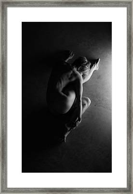 The Beautiful Enigma Framed Print by Blue Muse Fine Art