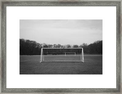 The Beautiful Game Framed Print by Richie Stewart