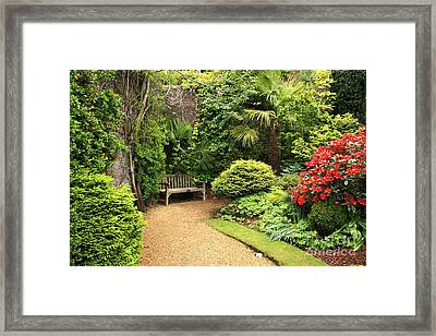 The Beautiful Garden Framed Print by Boon Mee