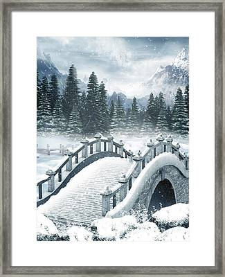 The Beautiful Gothic Winter Art Framed Print by Boon Mee