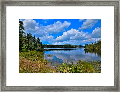 The Beautiful Lake Abanakee New York Framed Print by David Patterson