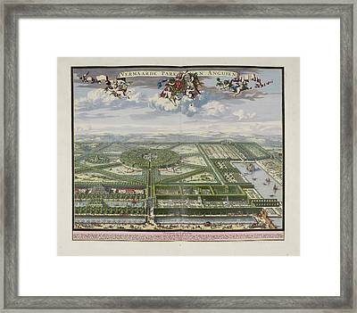 The Beautiful Park Of Enghien Framed Print