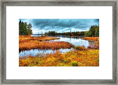 The Beautiful Raquette Lake Framed Print by David Patterson