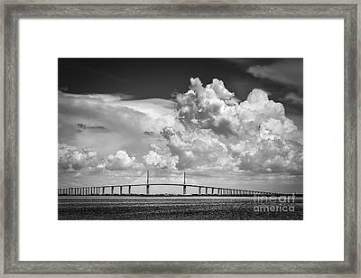 The Beautiful Skyway Framed Print
