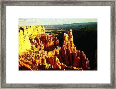 The Beauty Of Bryce Framed Print by Jeff Swan