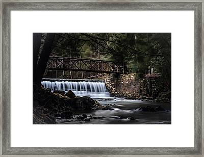 The Beauty Of Clear Creek Framed Print