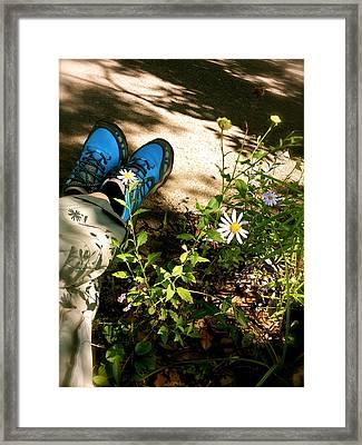 The Beauty Of Idleness Framed Print by Yen
