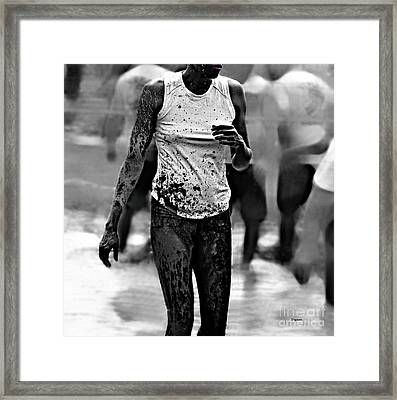 The Beauty Of Mud  Framed Print by Steven Digman
