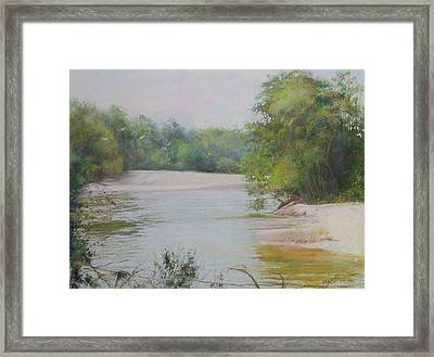 The Beauty Of Nature Framed Print by Nancy Stutes