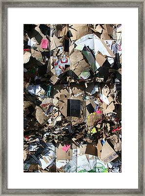 The Beauty Of Recycling Framed Print