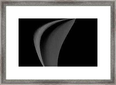 Beauty Of Simplicity Framed Print by Kellice Swaggerty