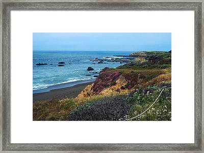The Beauty Of The Central Coast Framed Print by Kathy Yates