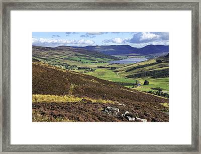 The Beauty Of The Scottish Highlands Framed Print