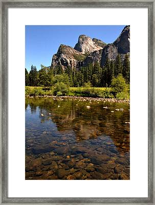 The Beauty Of Yosemite Framed Print