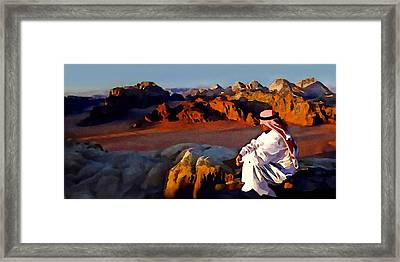 The Bedouin Framed Print by Jann Paxton