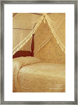 The Bedroom Framed Print by Edward Fielding