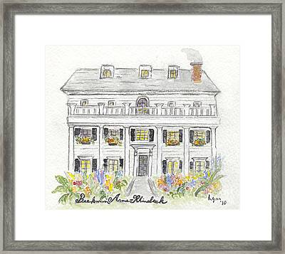 The Beekman Arms In Rhinebeck Framed Print by AFineLyne
