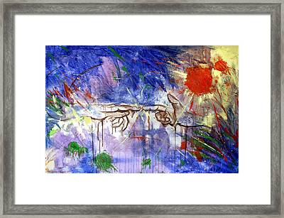 The Beginning Framed Print by Anthony Falbo