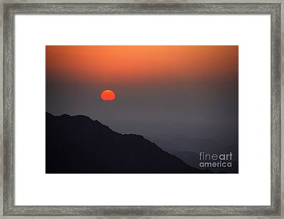 The Beginning Framed Print by Hannes Cmarits