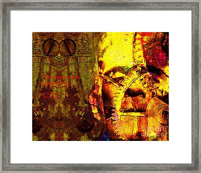 The Beginning Is Always Today 20130718 Text V1 Framed Print