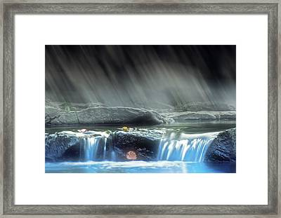 Natural Peace Framed Print by Kellice Swaggerty