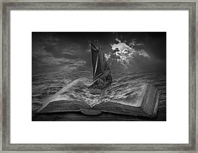 The Beginning Of New Adventures Framed Print by Randall Nyhof