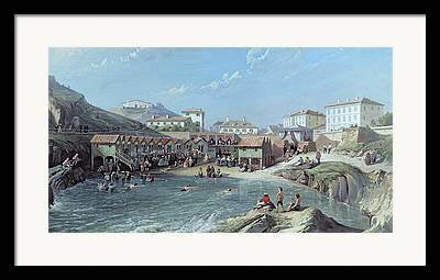 South West France Paintings Framed Prints