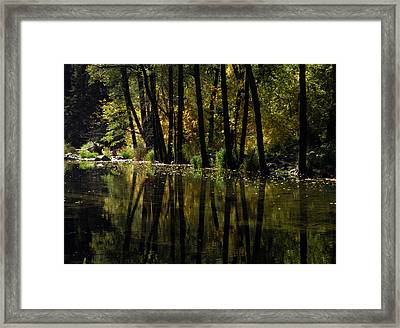 The Beginning Of The Fall Framed Print by SEA Art