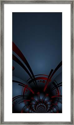 Framed Print featuring the digital art The Beginning by Shabnam Nassir