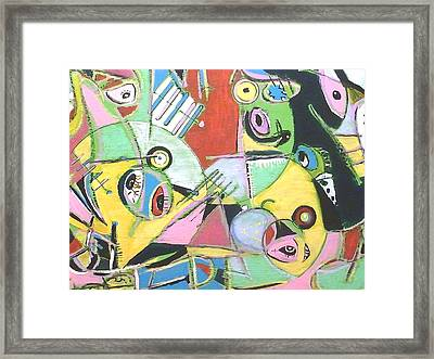 The Beginning Framed Print by Tyler Schmeling