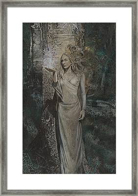 The Beholding Framed Print by Kimberly Webber