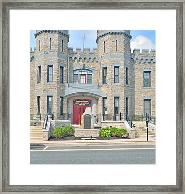 The Bel Air Maryland Armory 2 Framed Print