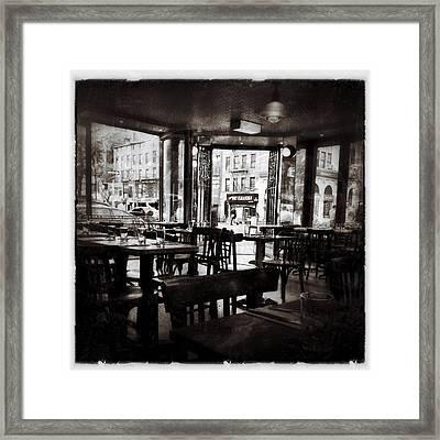 The Belcourt Framed Print