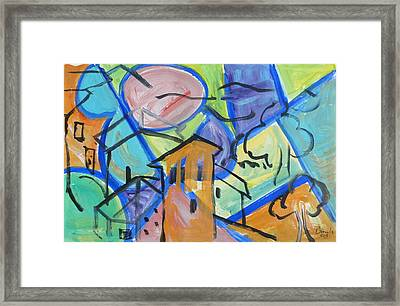 The Bell Tower  Framed Print by Brenda Ruark