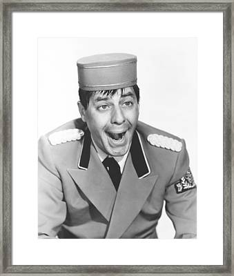 The Bellboy, Jerry Lewis, 1960 Framed Print