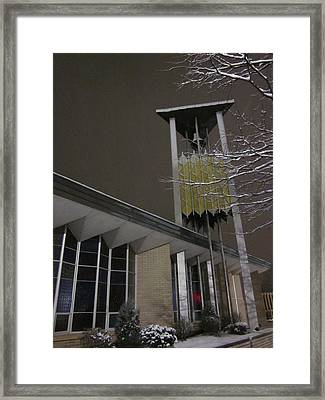 The Bells Are Silent Framed Print by Guy Ricketts