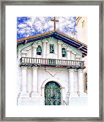 the Bells of Mission Dolores Framed Print