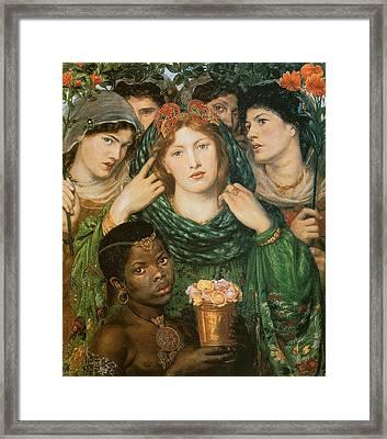 The Beloved-the Bride Framed Print by Dante Gabriel Rossetti