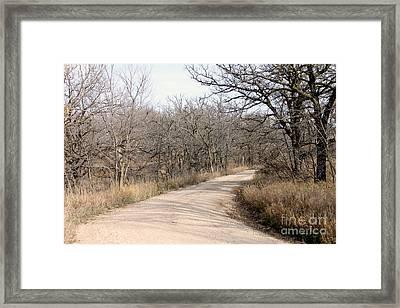 The Bend Framed Print by Lori Tordsen