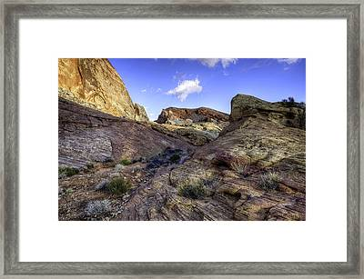 The Bend Framed Print by Stephen Campbell