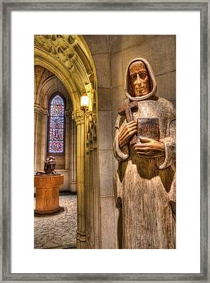 The Benedictine Order Framed Print by Lee Dos Santos