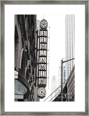The Benjamin Nyc Framed Print by Beth Saffer