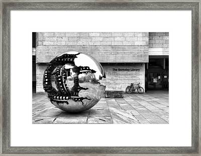 The Berkeley Library Framed Print