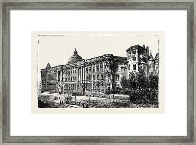 The Berlin Congress Framed Print