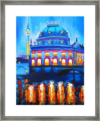 The Berlin Musuem Framed Print by Susi Franco