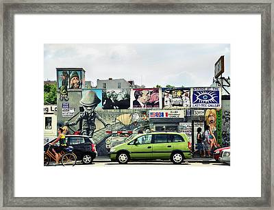 The Berlin Wall - Berliner Mauer Framed Print by Gynt