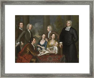 The Bermuda Group, Dean Berkeley And His Entourage, 1728 Framed Print