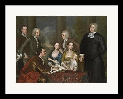 Women. Eighteenth Century Framed Prints